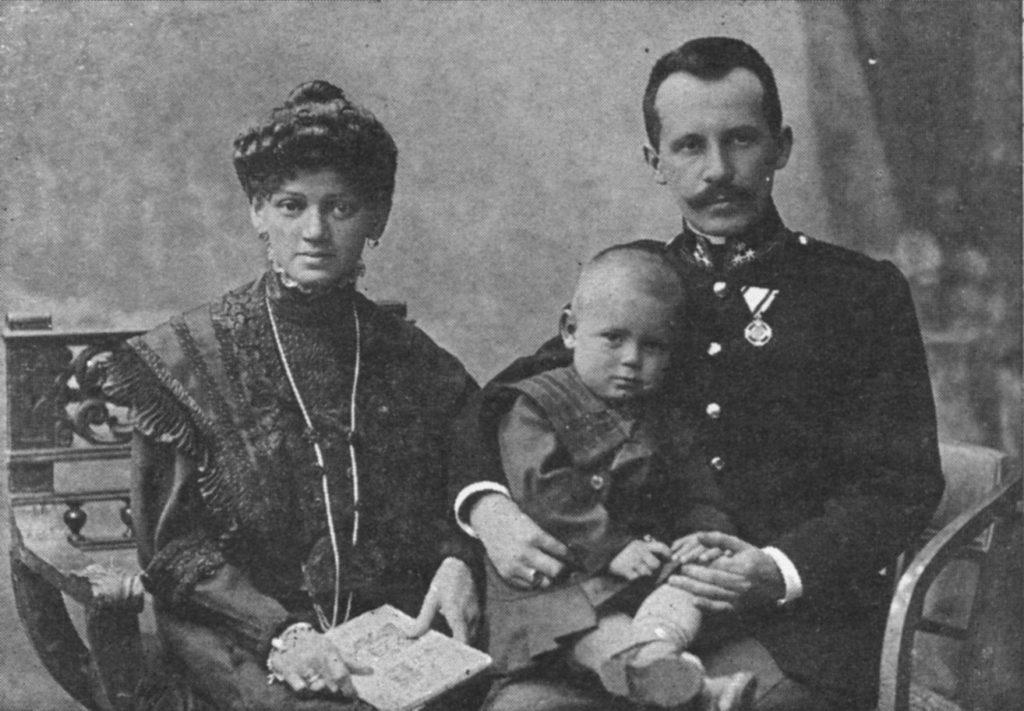 Père et mère Wojtyla avec Edmund