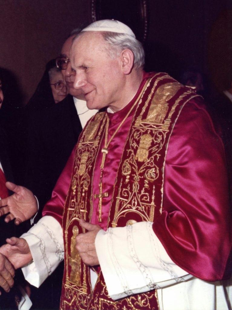 Journée d'un Pape